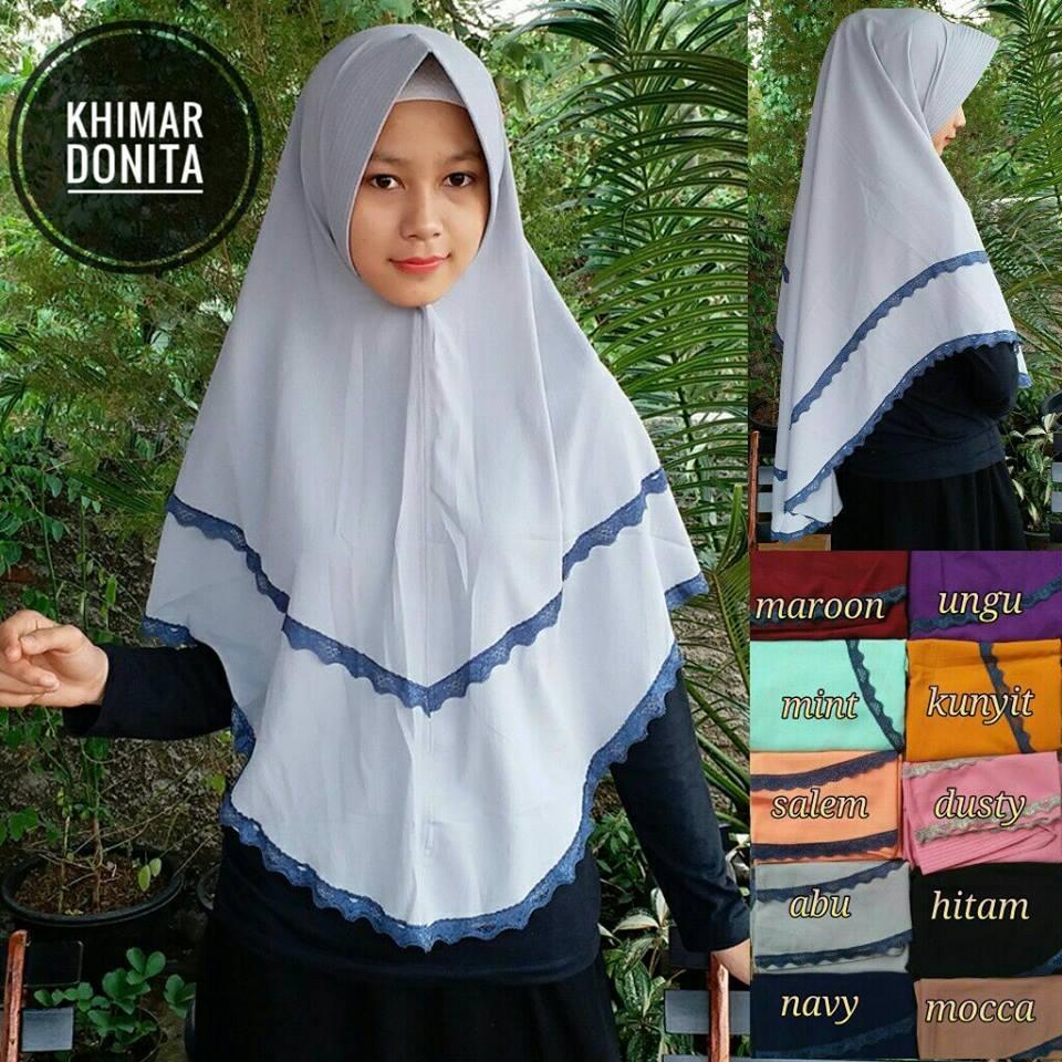Khimar Donita 43 46 60 810 SG Jilbab