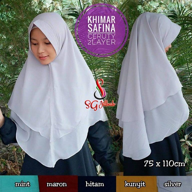 Khimar Shafina 44 47 60 810 SG Jilbab 70 x 115 cm