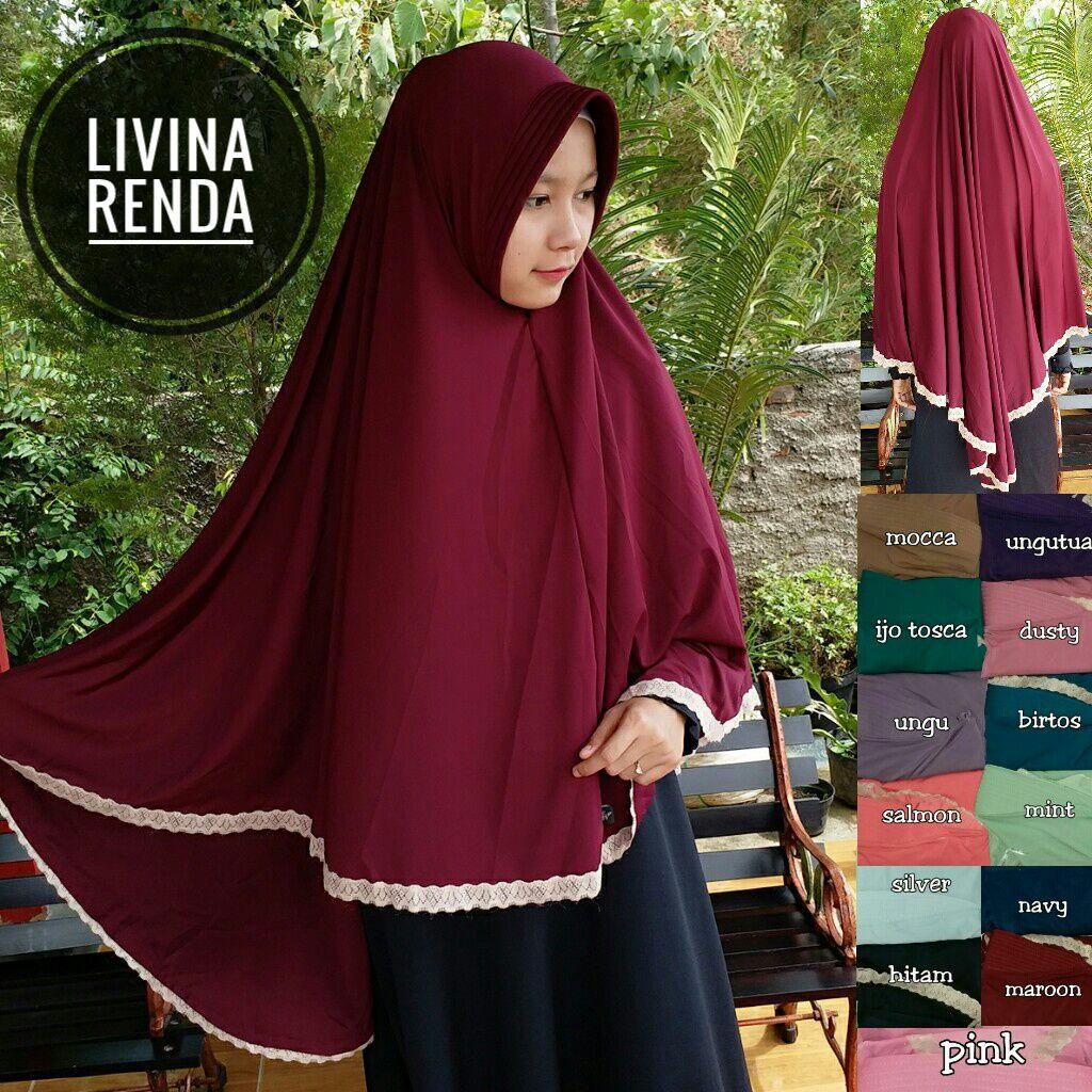 Livina Renda 35 38 45 650 SG Jilbab 85 x 125 cm.