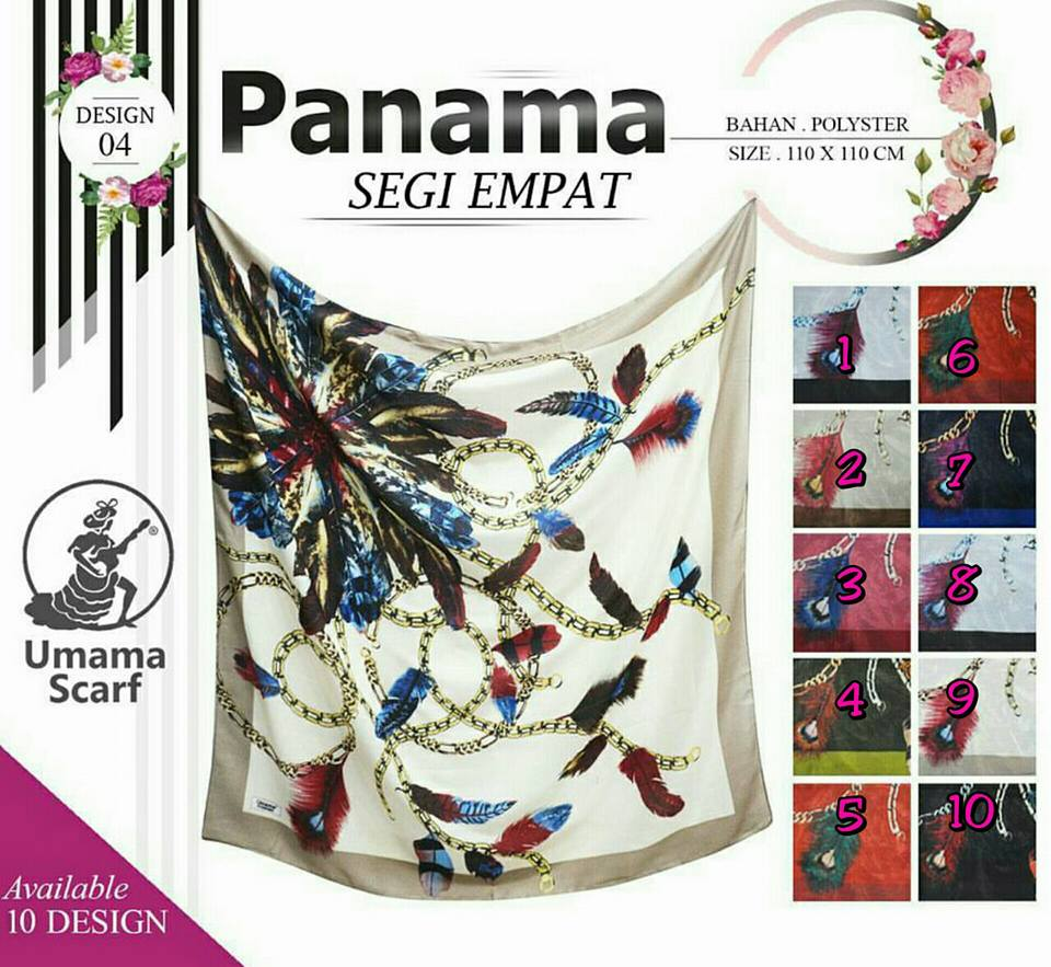 Panama design 04 by Umama SG Jilbab