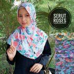 Kerudung Serut Roses