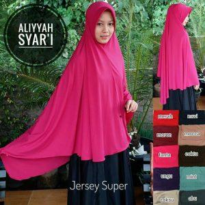 Jilbab Aliyyah Syar'i