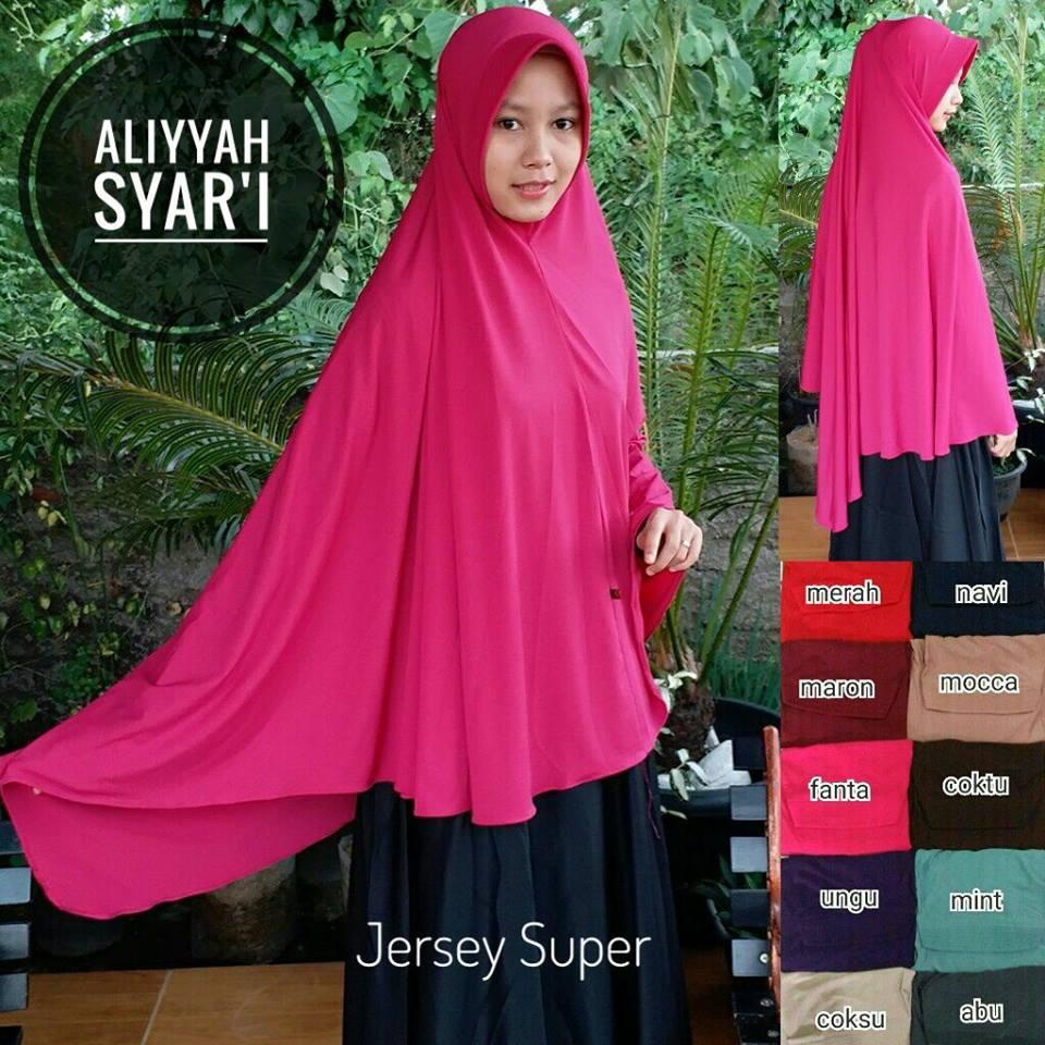 Aliyyah Syar'i 48 51 65 880 SG Jilbab D 95, B 150 cm