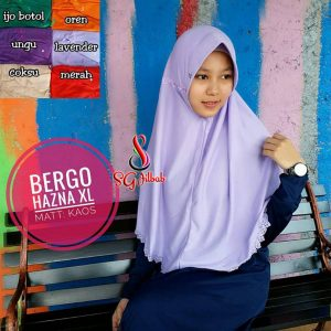 Hazna Bergo Press 27 30 40 470 SG Jilbab