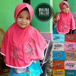 Jilbab Anak Malika Tali SD