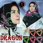 SegiEmpat Black Dragon Motif A1