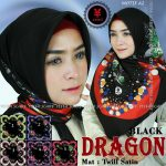 SegiEmpat Black Dragon Motif A2