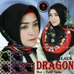 SegiEmpat Black Dragon Motif A2