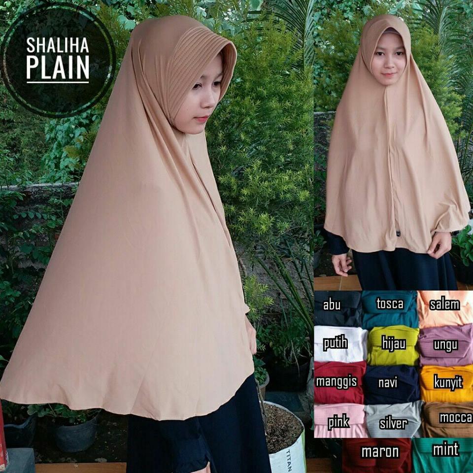 Shaliha Plain 32 35 45 580 SG Jilbab 90x125 cm  SG JIlbab