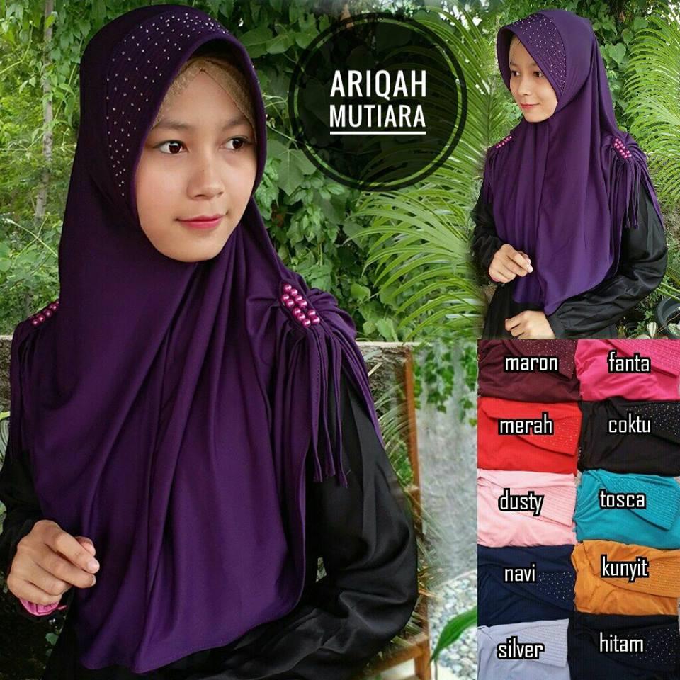 Ariqah Mutiara 28 31 40 510 SG Jilbab