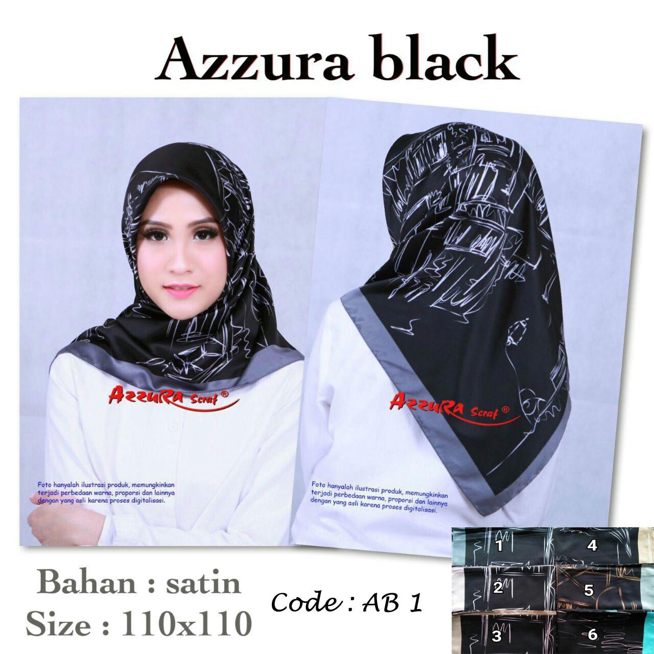 Azzura Black 27 30 40 490 AB 1 SG JIlbab