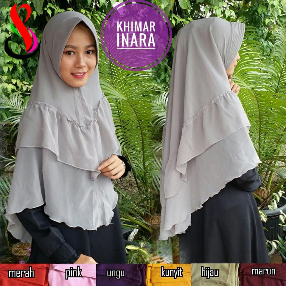 Khimar Inara 42 45 60 790 SG Jilbab