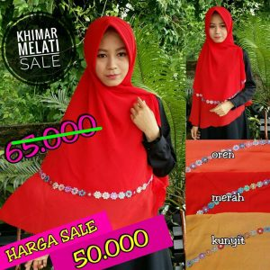 SALE STOCK Khimar Melati