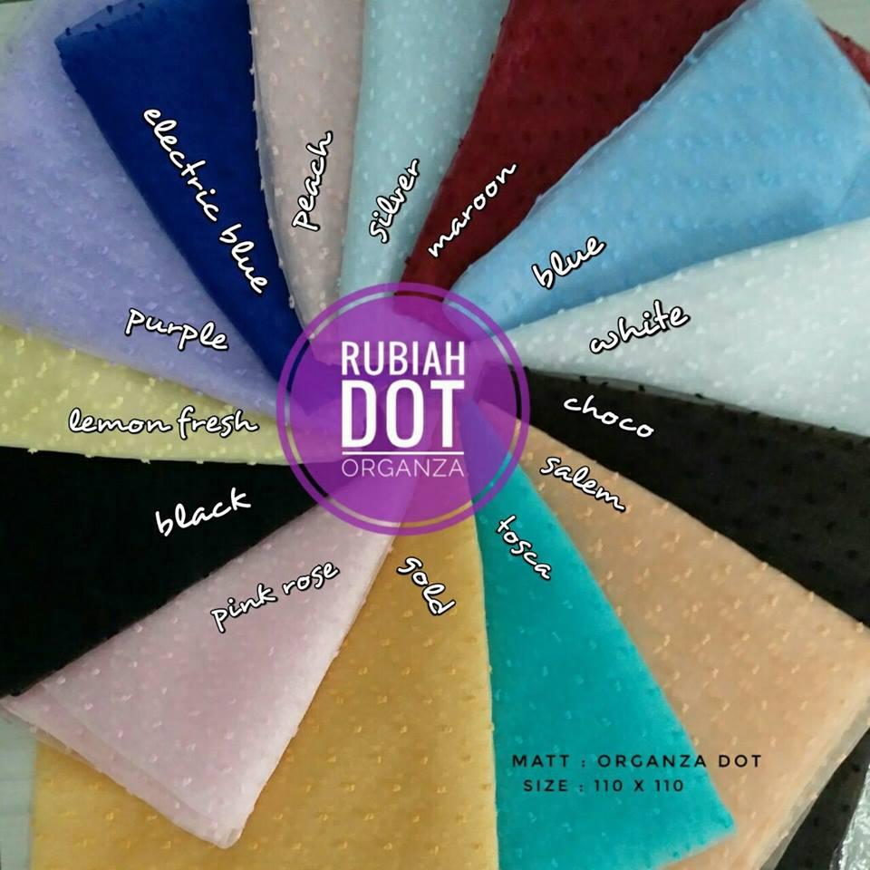 Rubiah Dot 36 39 50 650 SG Jilbab