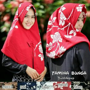 Jilbab Tamina Bunga