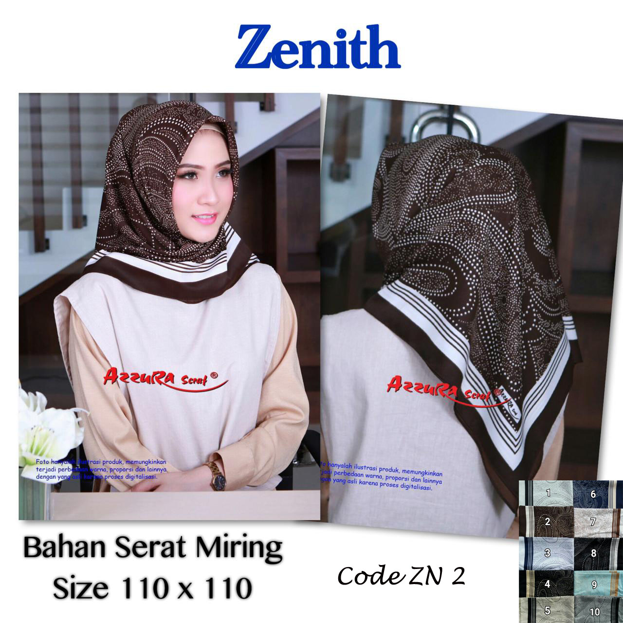 Zenith 27 30 40 490 ZN 2 SG JIlbab