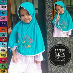 Jilbab Anak Pretty Flora