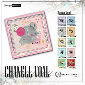 SegiEmpat Chanell Voal G250102