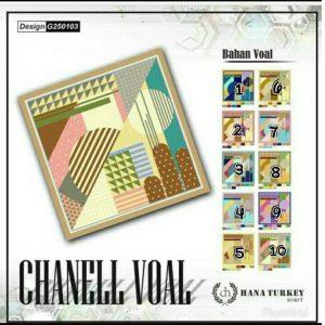 SegiEmpat Chanell Voal G250103