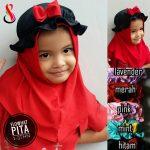 Jilbab Anak Flowhat Pita