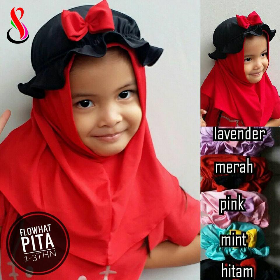 Flowhat Pita 1-3 th 15 17 25 250 SG Jilbab