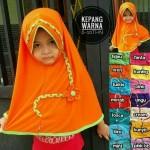 Jilbab Anak Kepang Warna