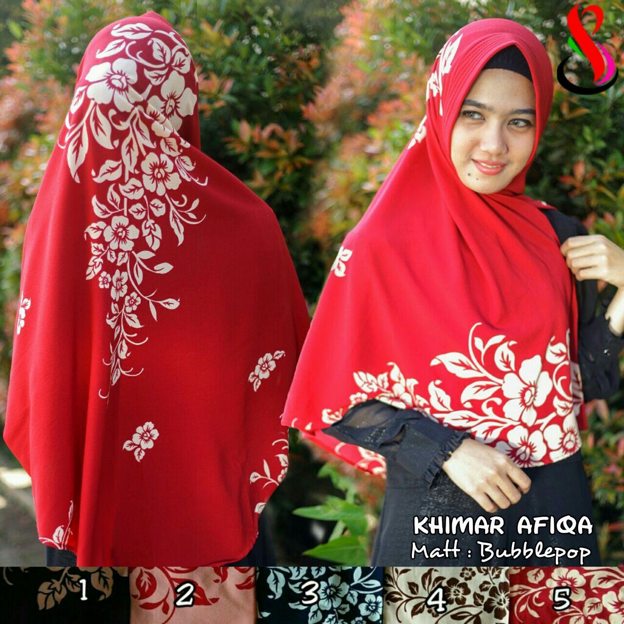 Khimar Afiqa SG Jilbab