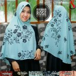Jilbab Khimar Rose