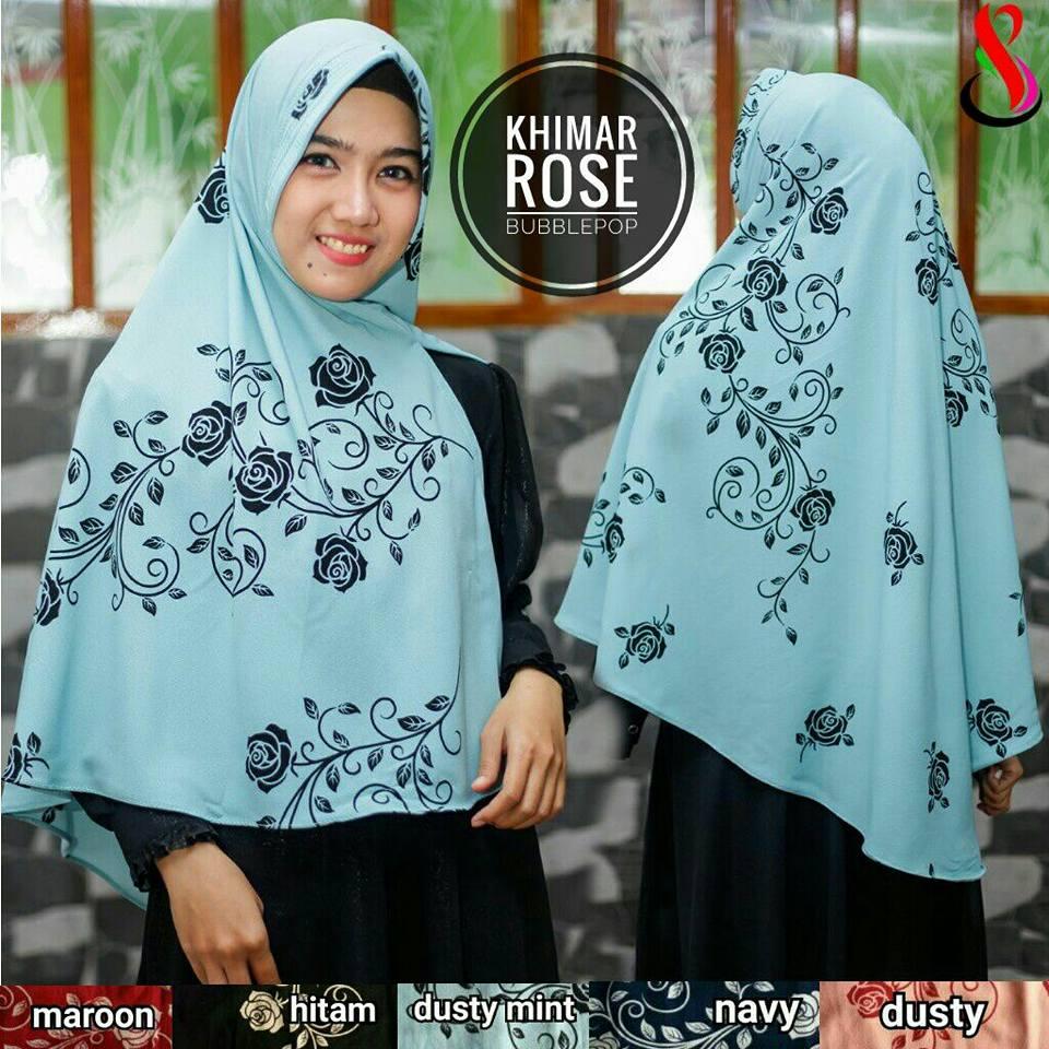 Khimar Rose 34 37 50 610 SG Jilbab