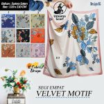 SegiEmpat Umama Velvet Motif 0523