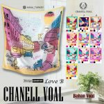 Channel Voal Love B 27 30 38 490 SG Jilbab