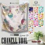 Channel Voal Love D 27 30 38 490 SG Jilbab