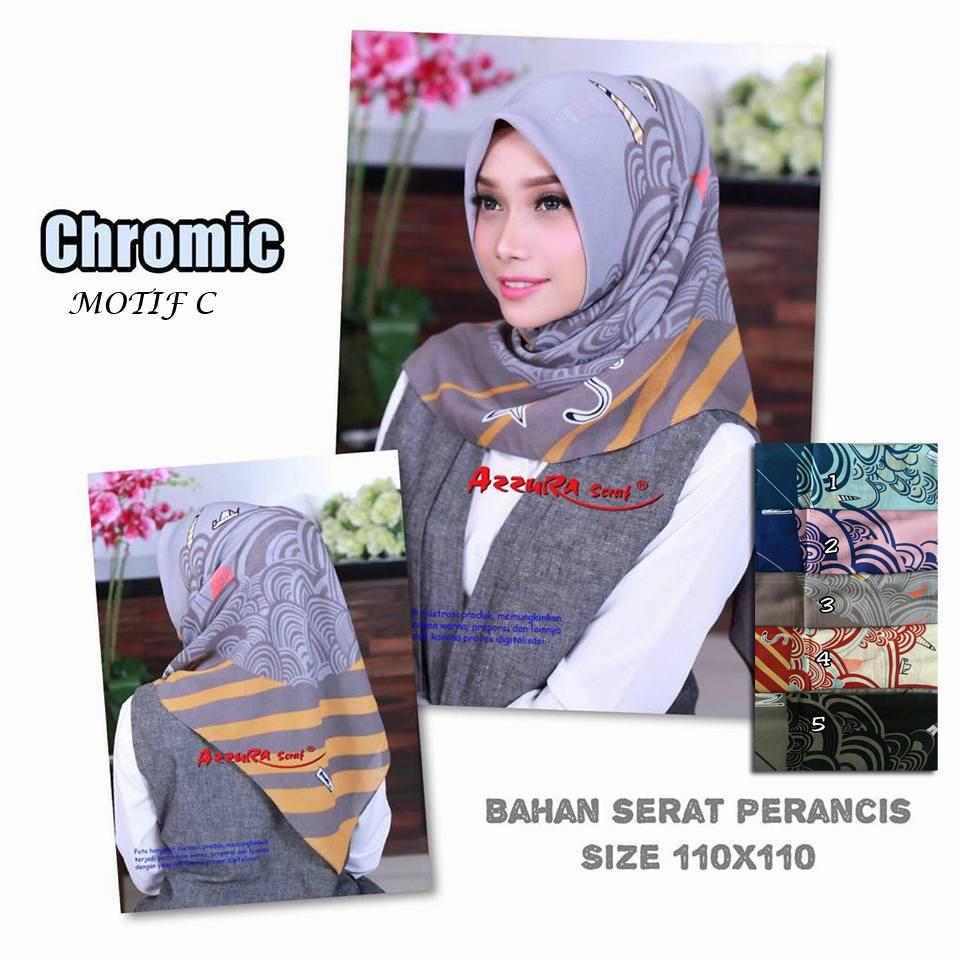 Chromic C 28 31 40 510 Azzura SG Jilbab