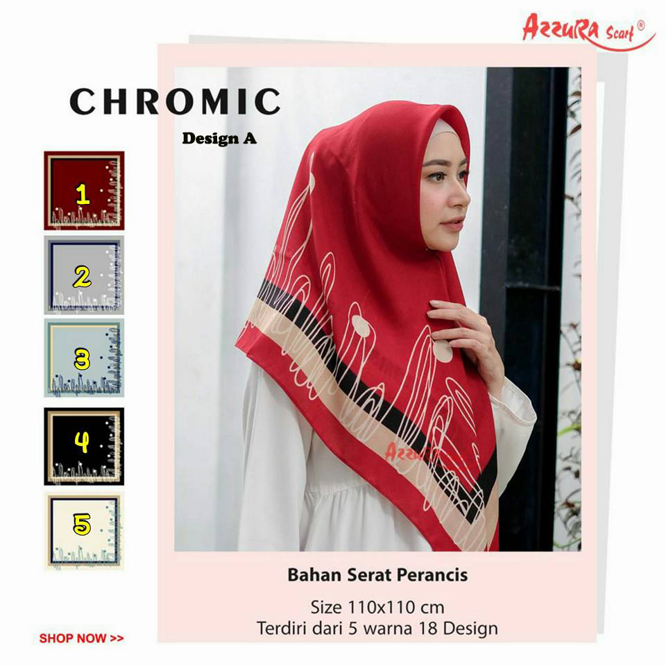 Chromic Design A29 32 40 530 by Azzura SG Jilbab