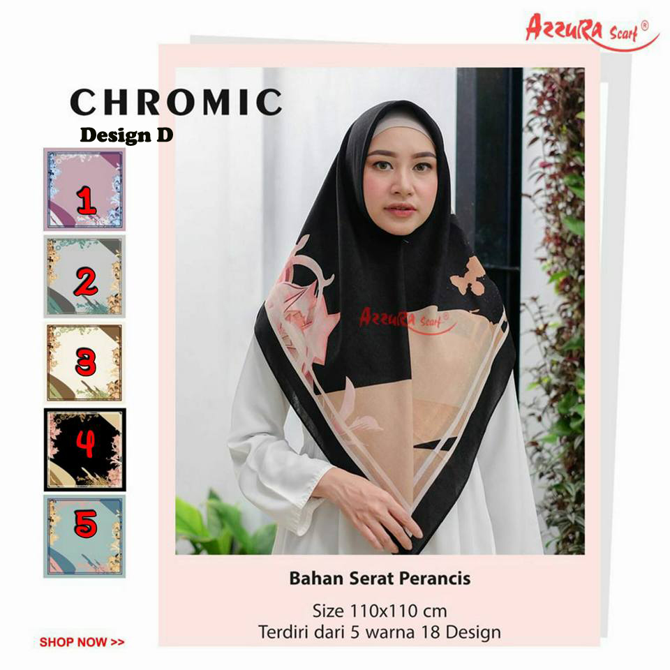 Chromic Design D 29 32 40 530 by Azzura SG Jilbab copy