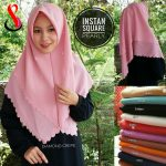 Jilbab Instan Square Pearly