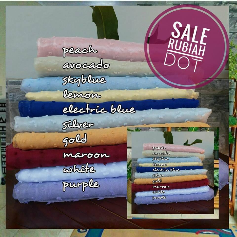 Sale Rubiah Dot 35 SGJilbab