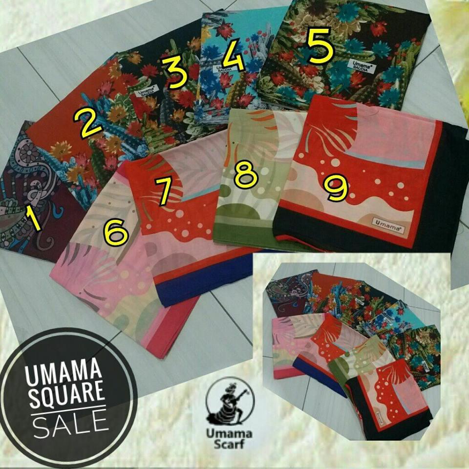 Sale STock HIJAB UMAMA SG JIlbab 21k