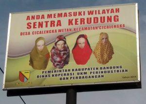 Sentra Kerudung Bandung