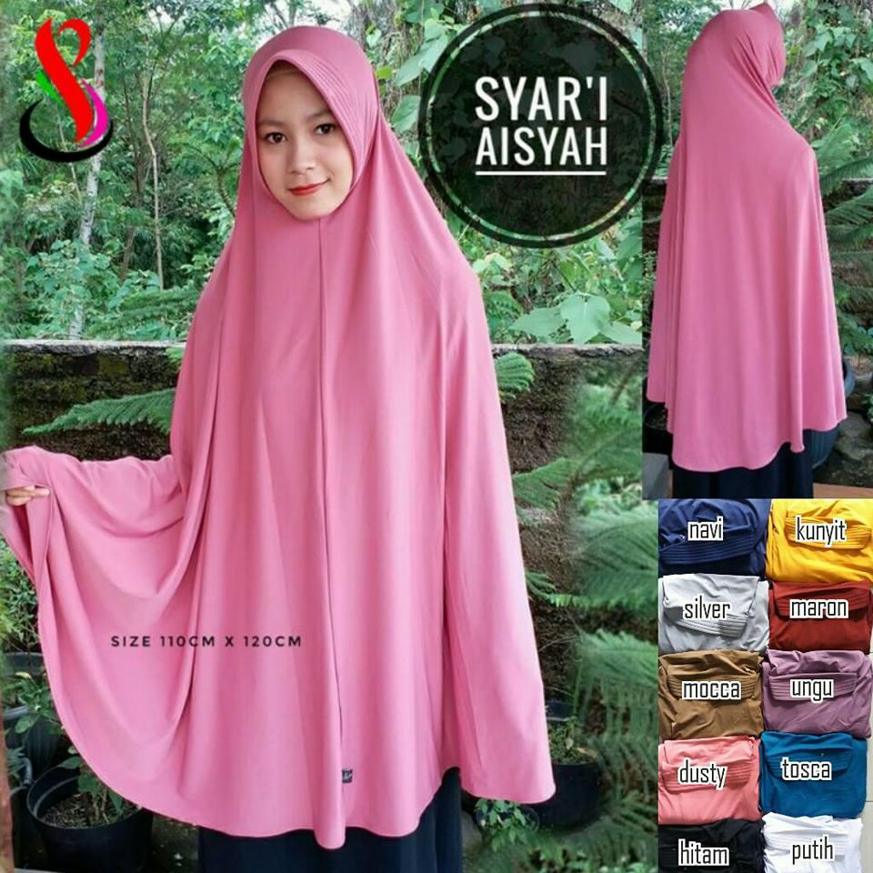 Syar'i Aisyah 42 45 55 770 SG JIlbab