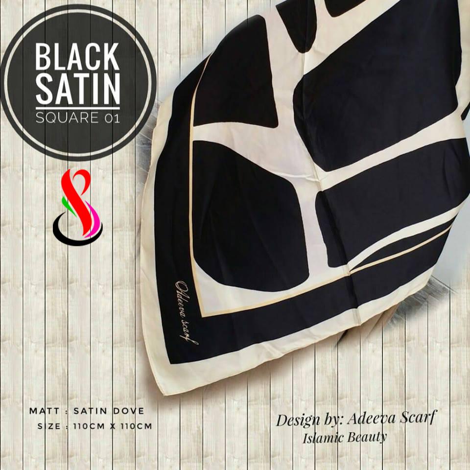 Black Satin 01 26 29 38 460 SG Jilbab