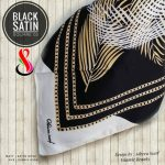 Black Satin 02 26 29 38 460 SG Jilbab