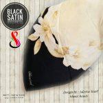 Black Satin 03 26 29 38 460 SG Jilbab