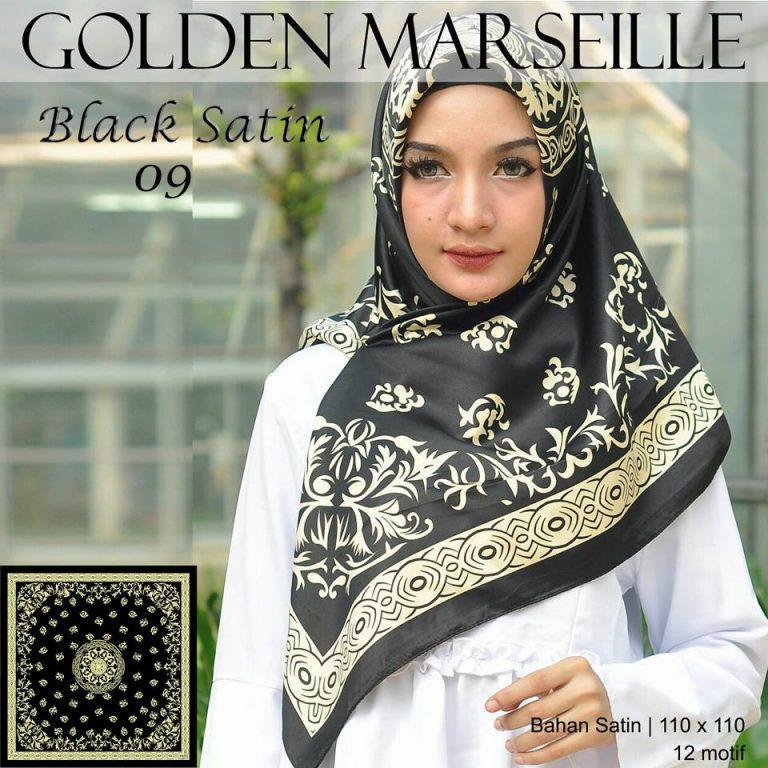 Black Satin 27 30 38 480 SG Jilbab 9.2