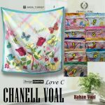 Channel Voal Love C 27 30 38 490 SG Jilbab