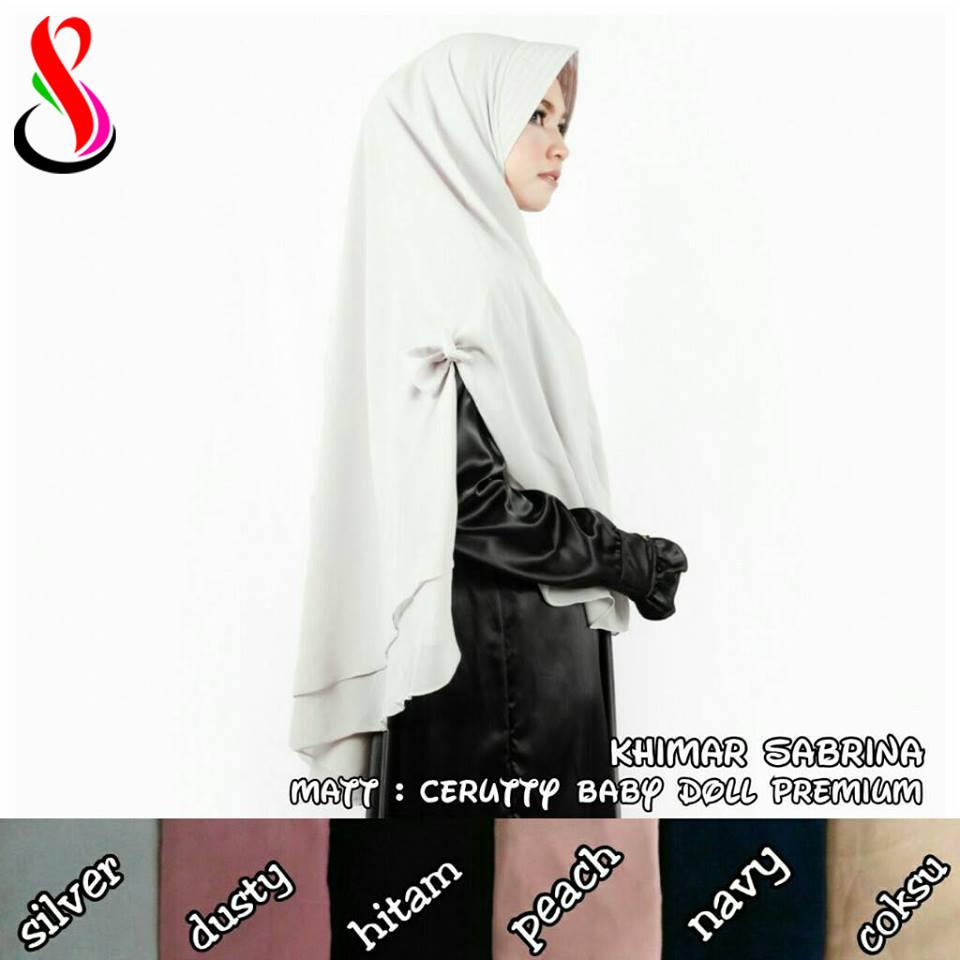 Khimar Sabrina 74 79 100 1400 SG Jilbab