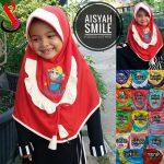 Jilbab Anak Aisyah Smile SD