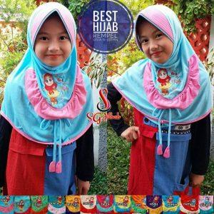 Best Hijab Rempel Anak 24 27 35 420 SG Jilbab