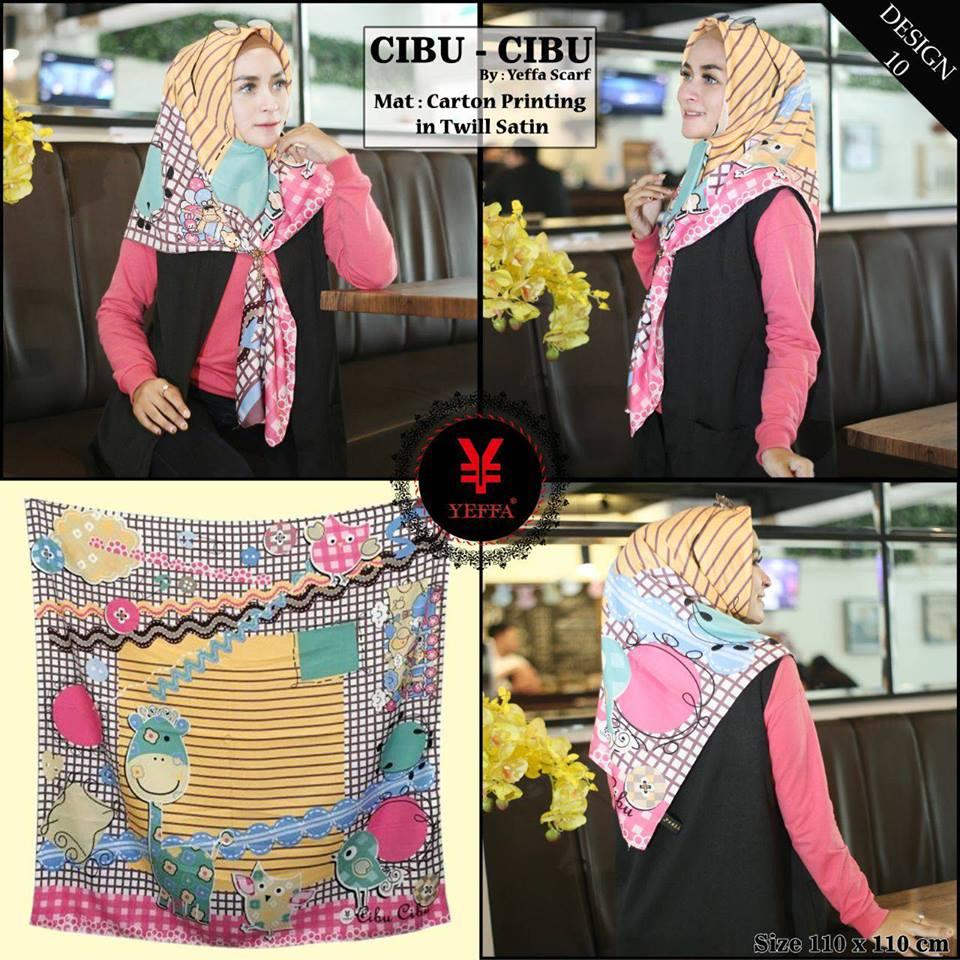 Cibu Cibu design 10 SG Jilbab