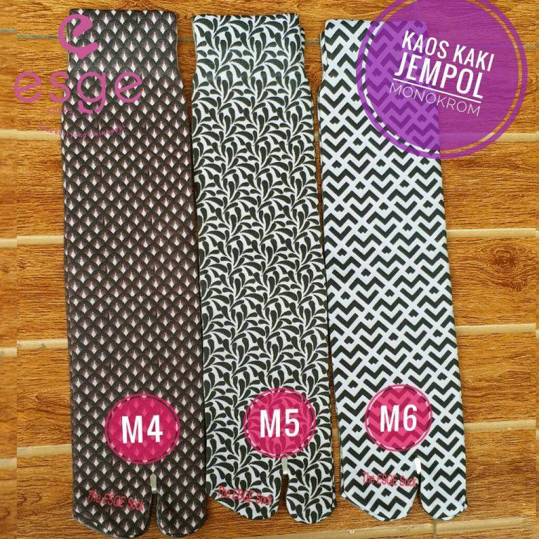Kaos Kaki Jempol Monokrom M4-6 Esge Socks